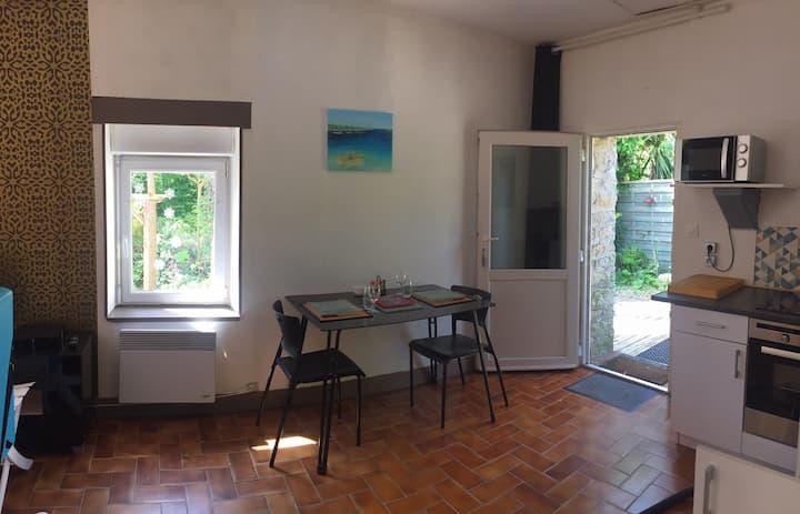 Ty Hent, Grand studio en rdc sans vis-à-vis