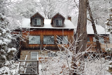Beautiful lakeside cottage, hot tub, all seasons