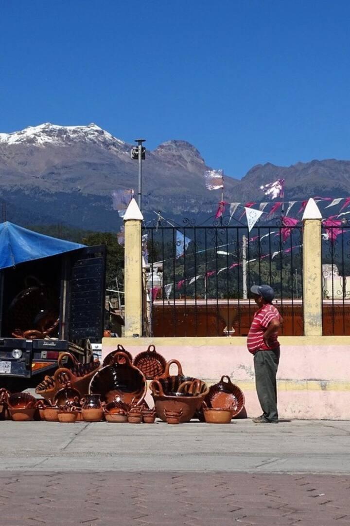 Mercado tradicional.