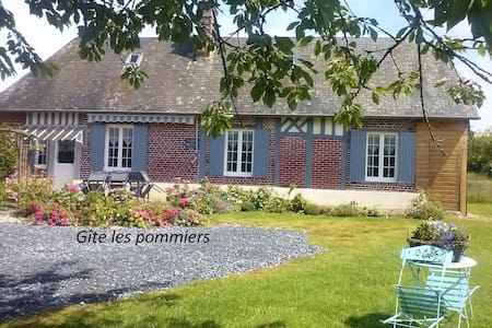 Cottage -4/6 guests- near Honfleur - Beuzeville - Rumah