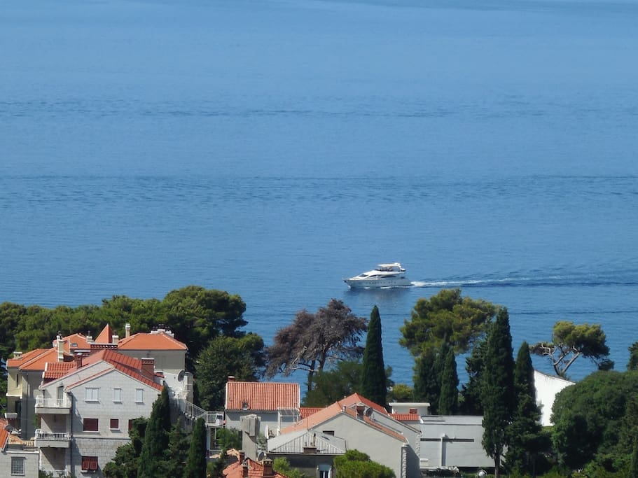 Magnificent Sea Views : Enjoy the beauty of the Adriatic Sea