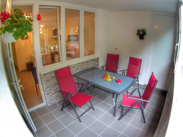 Apartments Suzana 2BR Split with balcony