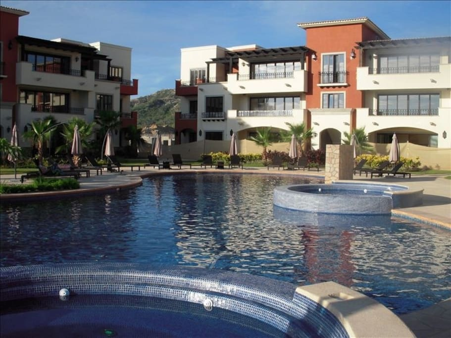 Common Pool Area of Las Villas de Mexico