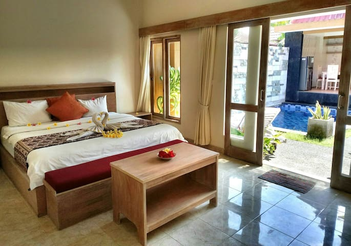 Ideal private villa w pool Couple-Honeymoon Sanur