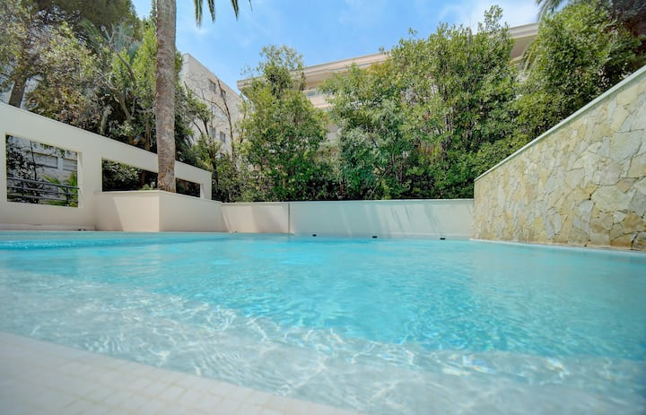 IMMOGROOM - Terraces - Swimming pool - A/C - Residence - CONGRESS/BEACHES