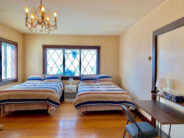 Large room 2 beds near Harvard/Davis/Tufts 41-1A