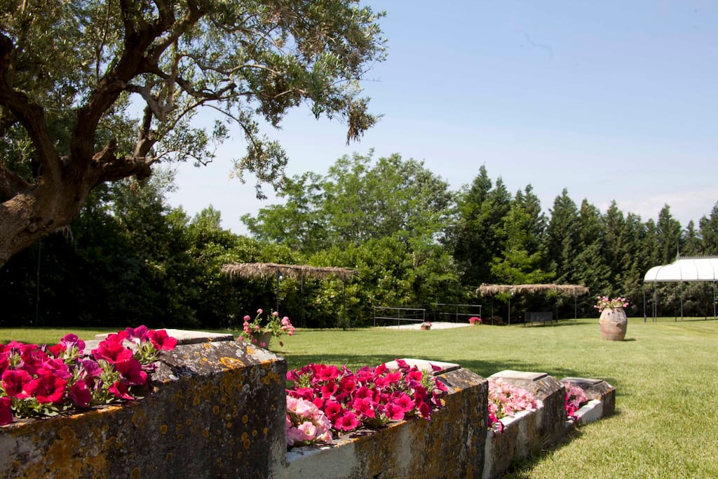 Veduta dei Giardini del Castello