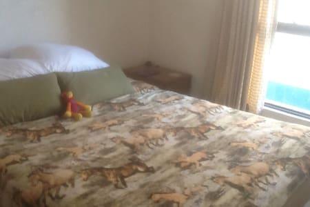 One room with a comfortable bed - Ciudad de México