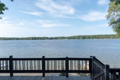Striking Views of Lake Ann, Sandy Bottom, Sleeps 8