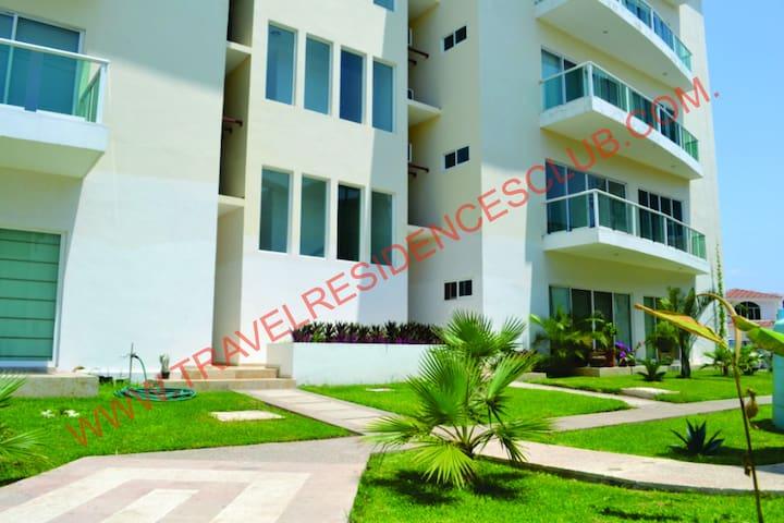 Departamento   Marina mazatlan la Isla  3303 - Mazatlán - Apartamento