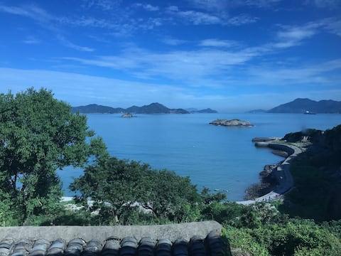 舟山虾峙岛看海的房子