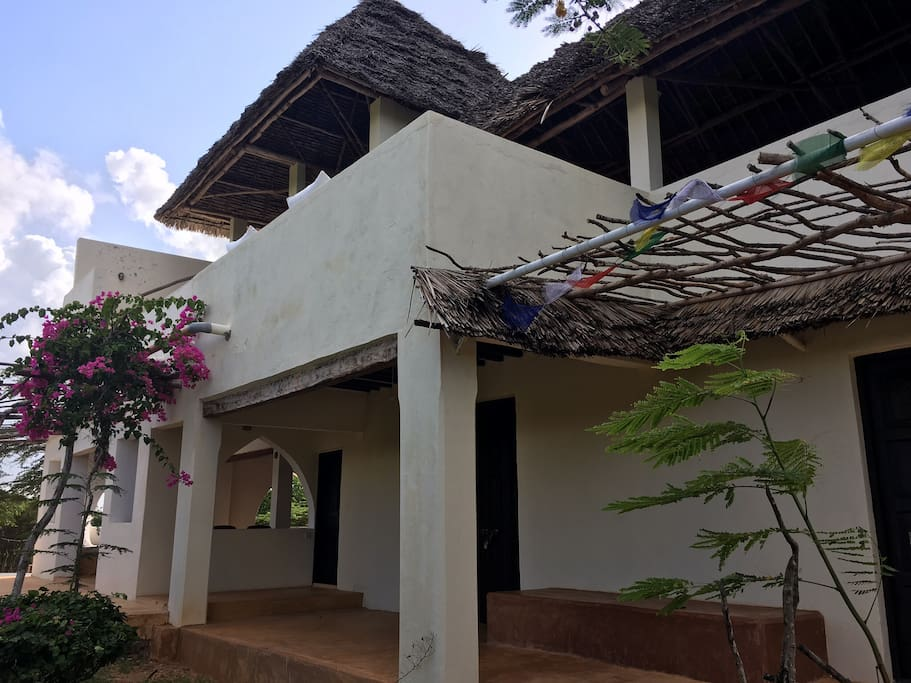 Front view of Mwangati House
