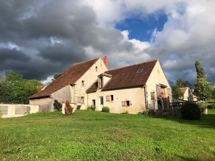 Grande maison - Forêt Tronçais - 12 personnes
