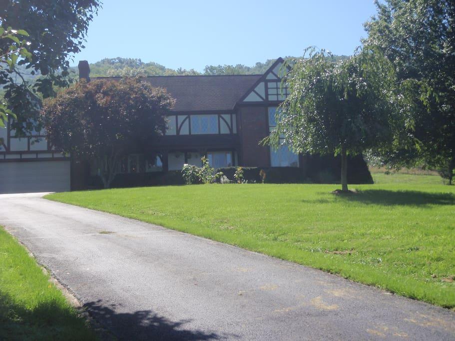 Our Farmhouse at Honey Creek Farm