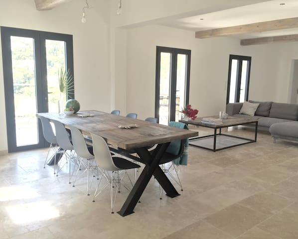 Gorgeous villa with sea views from all rooms - Roquebrune-sur-Argens - Huis