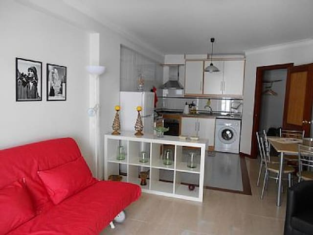 Sofa/Double bed and fully equipped kitchen