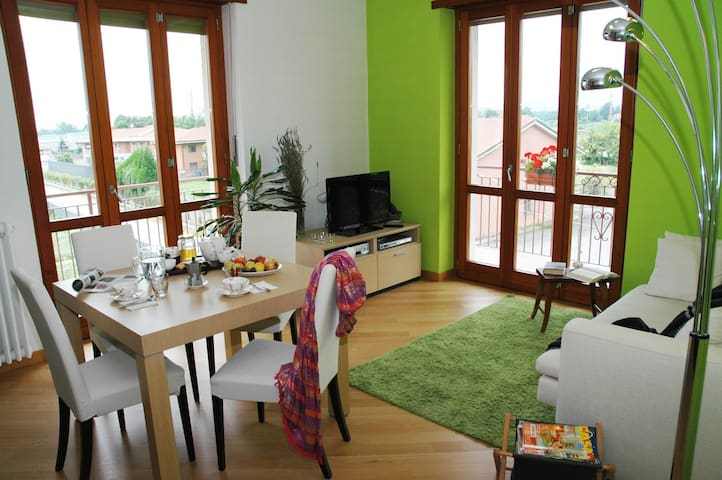 So much light, comfortable and park - Castellamonte - Apartament