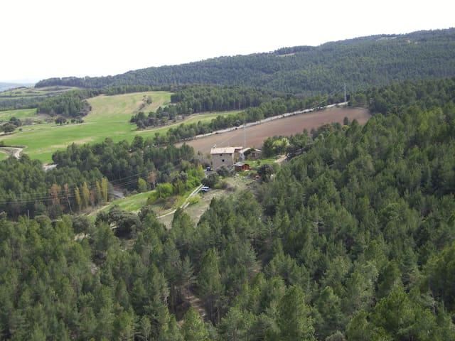 Casa rural aislada - L'Espunyola - Dům