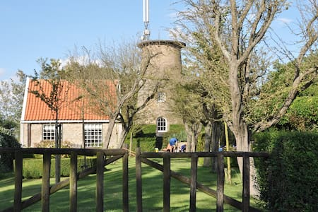 Charming house next to Dutch mill - Cadzand - Hus