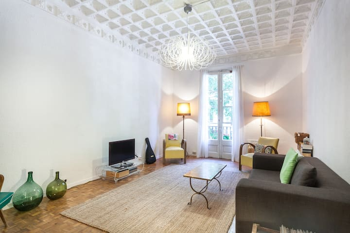 Amazing location with two bikes! - Barcelone - Appartement