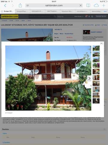 Eagean Didyma Sea sun forest home - Milas - House