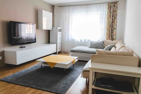 4 guests modern apartment with everything you need