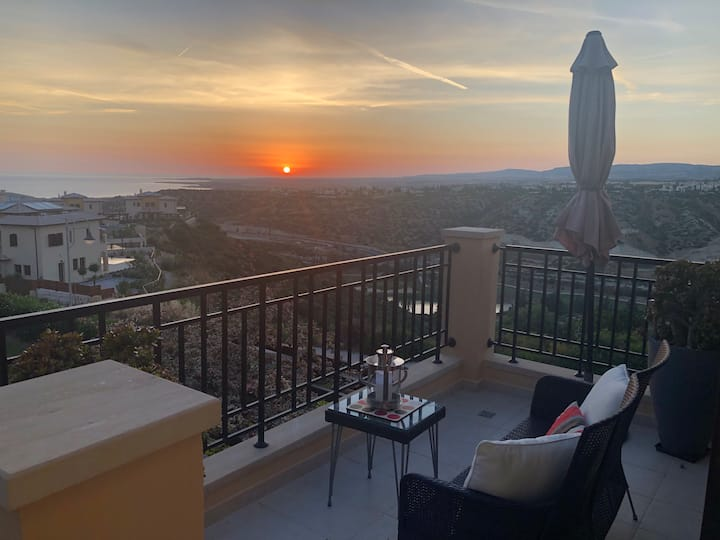 Best Sunset Views in Cyprus - Hesperides Apartment