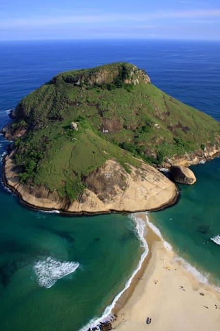 Pedra do Pontal... 10 minutes walk
