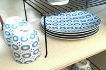 Stylish and fun Moroccan plates