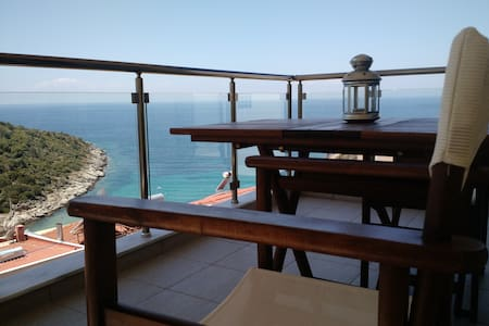 """Above the Sea"" Apartment I - Skala Marion - Daire"