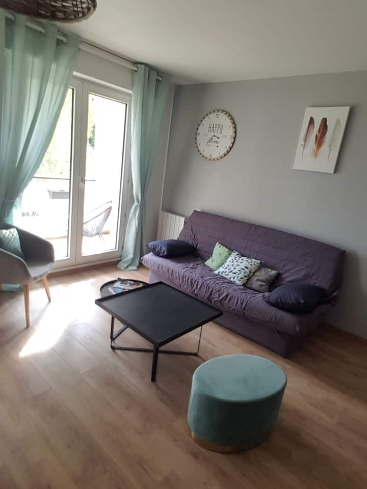 La Prévotière - Appartement cosy à Bois Guillaume