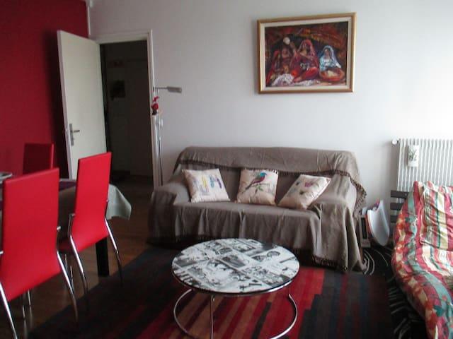 Appartement lumineux vue jardin - Pierrefitte-sur-Seine - Daire