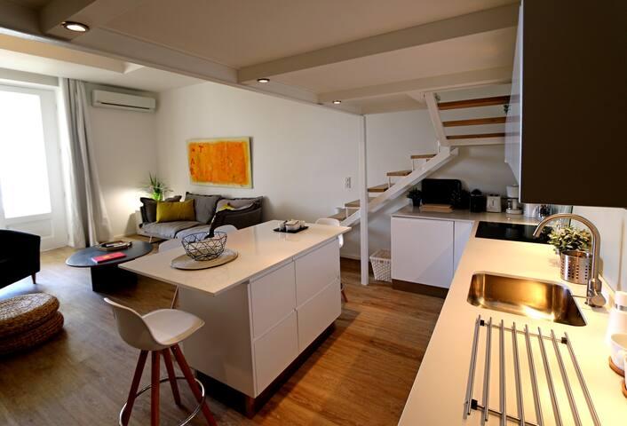 Cannes centre. Superbe loft avec grande terrasse - Cannes - Appartement