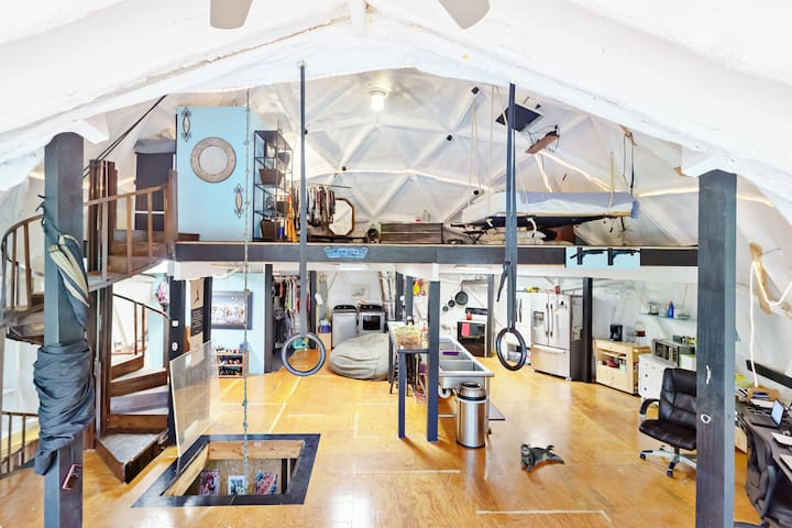 Dome Home - Hillsborough - Chatka