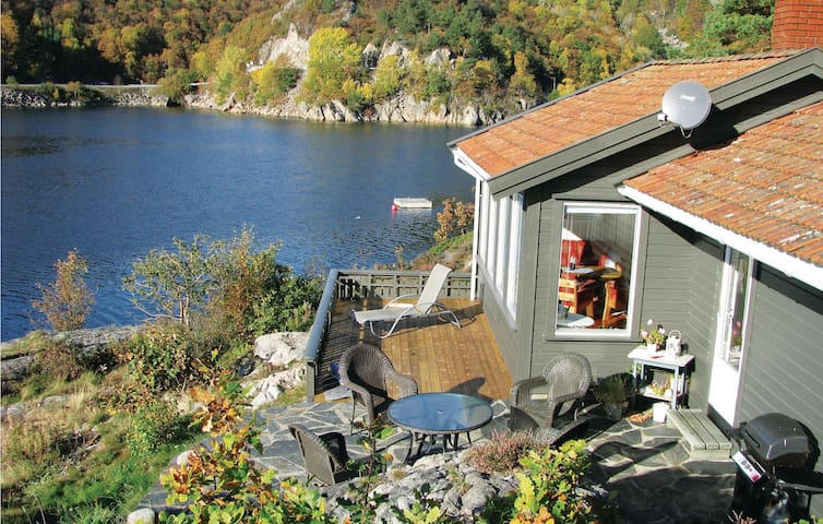 Holiday cottage with 2 bedrooms on 57m² in Lindesnes