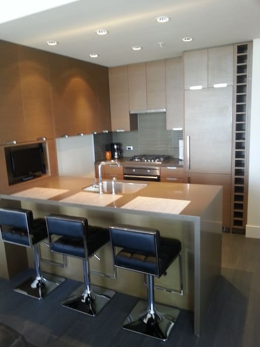Ultra modern kitchen with everything you need.