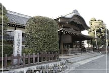 It is the castle keep track of Kawagoe Castle.