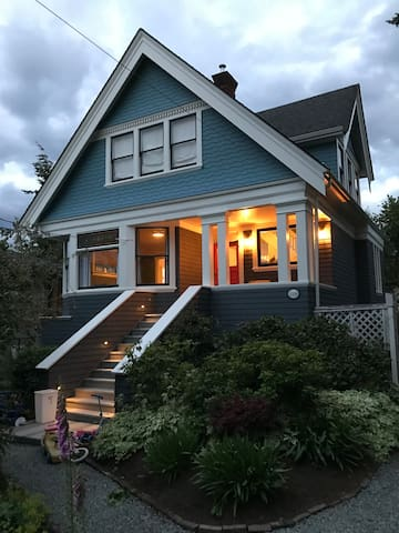 Newly renovated Fernwood character home