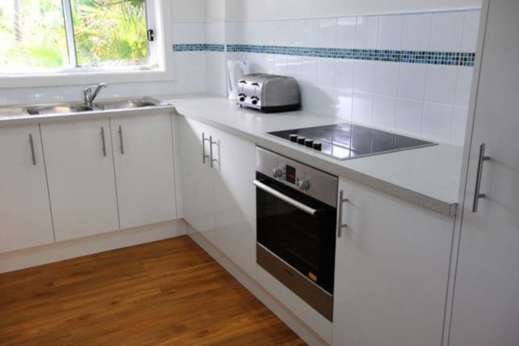 Renovated fully equipped kitchen