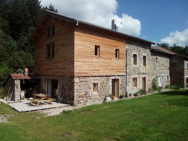 old water mill - Saint-Jeures - Apartment