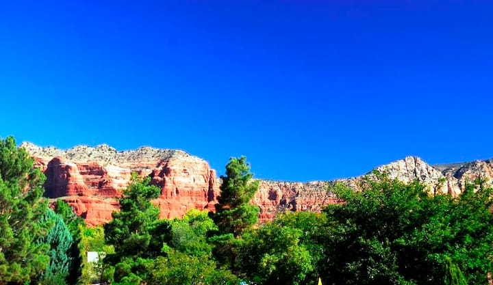 Magnificent Red Rock View