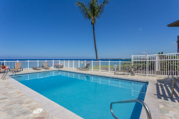 Oceanside and Convenient 2 Bedroom - Kailua-Kona
