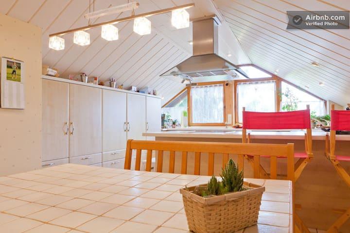 Wohn/Schlafzimmer mit Balkon - Obermichelbach