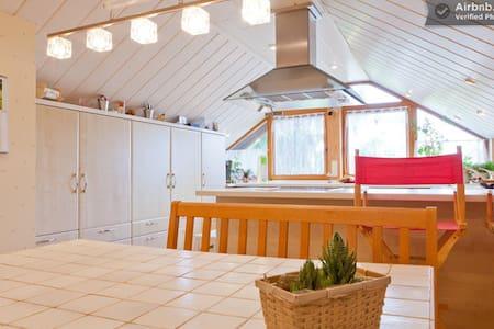 Wohn/Schlafzimmer mit Balkon - Obermichelbach - Lakás