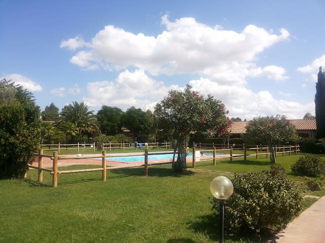 Tuscany: apt with pool - Marina di Grosseto