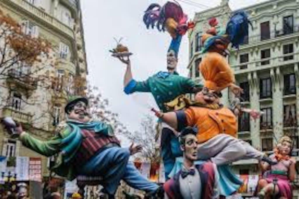 Fallas Fiesta of Valencia