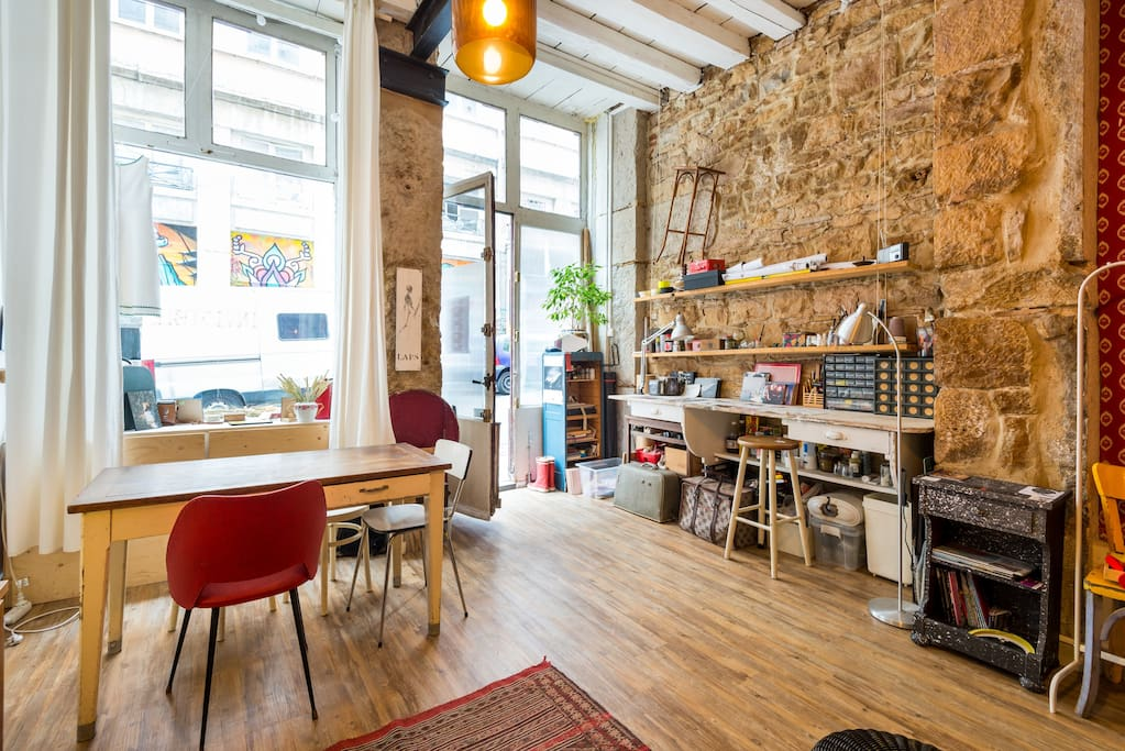 Loft atelier centre lofts louer lyon rh ne alpes for Location atelier loft