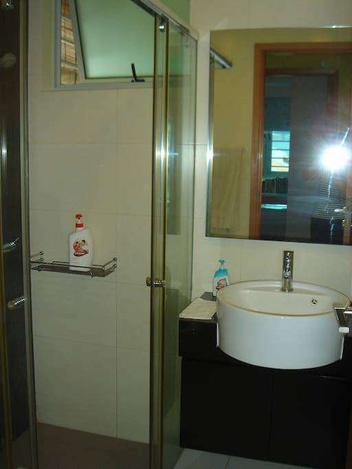 Exclusive bathroom & toilet for guest