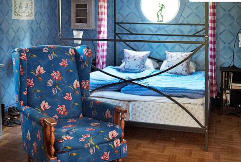 Ljuvligt sovrum!