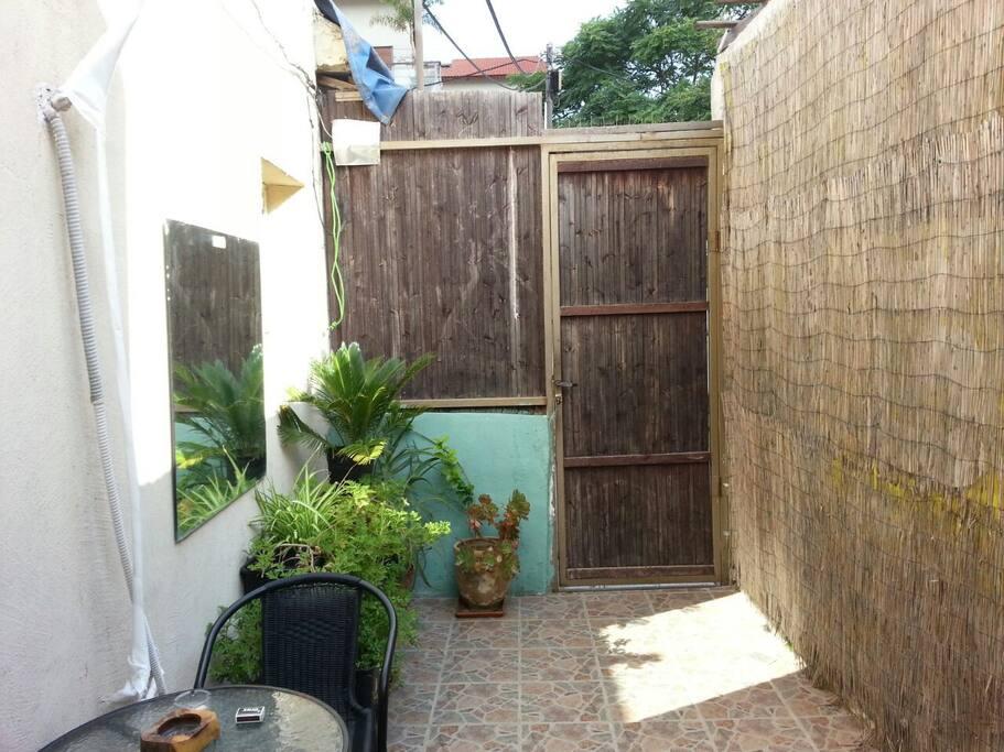 12m Private garden